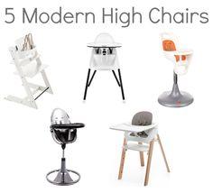 "Sassy Moms votes Stokke Steps a ""modern high chair for the modern home"""
