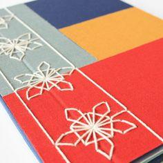 Image of Yuki no hana - Japanese Stab BInding Japanese Stab Binding, Handmade Journals, Book Binding, Journal Cards, Book Design, Outdoor Blanket, Notebook, Kids Rugs, Fancy