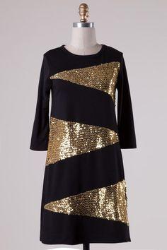 Candy Dress - Black - Nobella Grace Boutique #nobellagrace #fall2015 #holidayglam