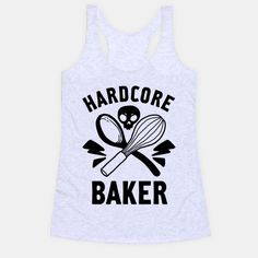 This hardcore baker is ready to rock the kitchen with the perfect punk baking shirt. Whether you love to bake muffins, cupcakes cake or cookies yourself, or you need some gifts for bakers, this punk...   Beautiful Designs on Graphic Tees, Tanks and Long Sleeve Shirts with New Items Every Day. Satisfaction Guaranteed. Easy Returns.