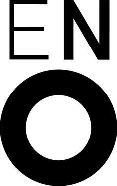 English National Opera identity, by Mike Dempsey