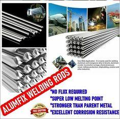 10Pcs Super Melt Flux Cored Aluminum Easy Solution Welding Rods High Quality