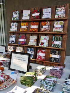 Pallet display! via Traditionally Unique