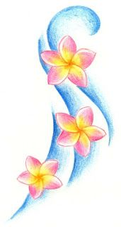 Plumeria Tattoo | Plumeria Flower Tattoos Gallery