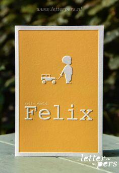 Geboortekaart Felix