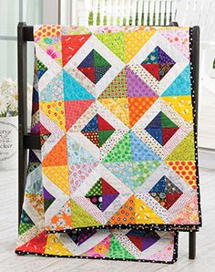 Quilt Patterns in the Spring 2016 Issue of Quilter's World