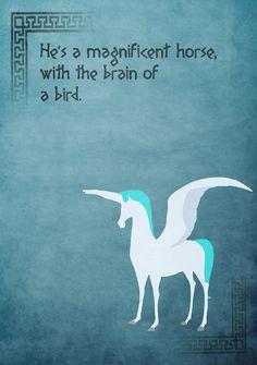 Hercules inspired design (Pegasus).