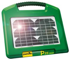 Solar Energiser Energiser with integrated 2 6 watt soler panel and 12 volt gel-cell battery The maintenance-free alternative for problem-free eletric fence operation from spring to autumn. Electric Fencing, Itunes, Fence, Solar, Alternative, Autumn, Spring, Fall Season, Fall