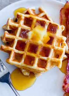 We're harnessing the power of whipped egg whites to give waffles that coveted airy crunchy and adding one must-have ingredient that really sets pancakes and waffles apart.