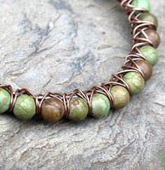 Hey, I found this really awesome Etsy listing at http://www.etsy.com/listing/105520831/turquoise-bead-bracelet-green-stone