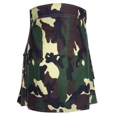 Woodland Camo Royal Kilt.  Our handmade #kilts are built to last and will withstand any manly task you put them up to. The style is traditional with added functionality. The custom #button placement and #buckle closure give our kilts a unique flare you won't find anywhere else. #RoyalKilt Visit our online kilt shop we offer most authentic and latest. http://royalkilt.com/kilts/camouflage-kilts/woodland-camo-royal-kilt.html