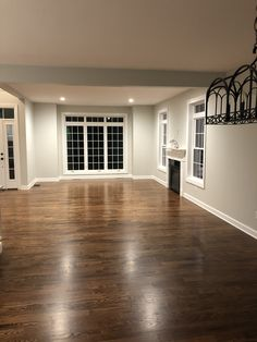 """3 1/4"""" red oak floors with Provincial stain"""