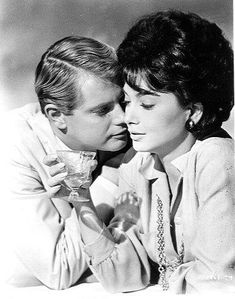 """Troy Donahue and Suzanne Pleshette, """"Rome Adventure"""""""