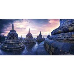 Borobudur - Joaquim Brissaud