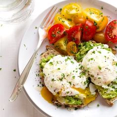 Poached Egg and Avocado Toast - this creamy, filling, real food breakfast just takes less than 10 minutes to prep! | pinchofyum.com