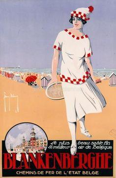 affiche retro belge - Recherche Google