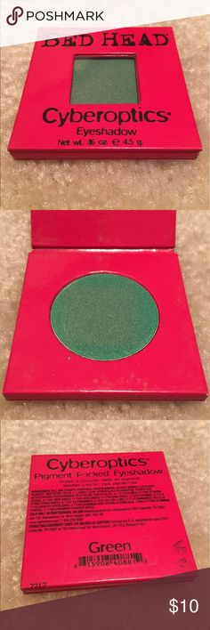 Bed Head Cyberoptics Eyeshadow in Green. Bed Head Cyberoptics Eyeshadow in Green. Authentic, Professional Quality. Brand New, Never Used or Tested. Smoke and Pet Free Home. Bed Head Makeup Eyeshadow