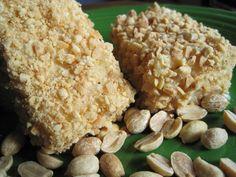 Recipe for peanut cake squares