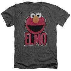 Sesame Street: Elmo Smile Heather T-Shirt