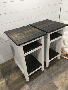 Ana White Bedside End Tables Diy Projects