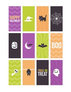 Halloween Candy Bar Wrappers | Paper Crafts & Scrapbooking magazine | free download, cute, October