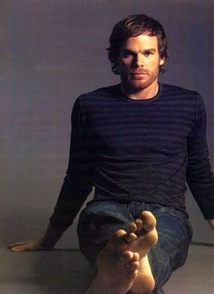 Michael C. Hall- can't wait for Dexter - so sorry to hear this is the last season.  Love his character and narratives to himself!