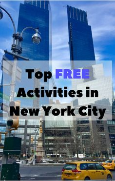 Best Things To Do in New York City!