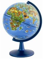 World Globe 6In HEM1298 Hema Maps World Globes | K12 School Supplies | Teacher Supplies