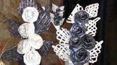 Flores  de  papel, hechas  con sus  propias  manos.  Parte 1.