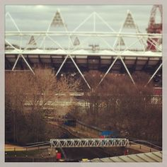 #Olympic #Stadium view from Lou's balcony. Photo by @sparrow_tweets