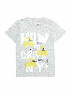 Boy`s printed drive t-shirt