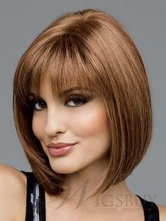 2014 New Bob Wigs on P...Short Bob Haircuts With Bangs 2014
