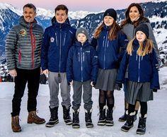 Danish Crown Prince Couple's four children started school in Verbier, Switzerland - Woody Cromack Denmark Royal Family, Danish Royal Family, Crown Princess Mary, Prince And Princess, Prince Frederik Of Denmark, Prince Frederick, Royal Christmas, Queen Margrethe Ii, Danish Royalty