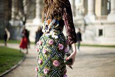 Paris Fashion Week Fall Winter 2012 Street Style