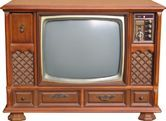 Our first color TV looked almost exactly like this. I was in first grade when we got ours. I was SO excited about it. And my little brother and I had a ball in the box it came in....