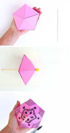 Make These Simple Printable Paper Toys At Home Tops Easy For Even Young Kids To Spin