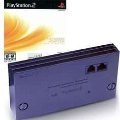 Playstation 2 Internet Network Adapter with Start Up Disc - Play Game Online, Online Games, Internet Network, Playstation 2, Games To Play
