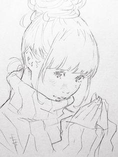 """""""さ、寒いね…⛄️  暖かくしてお出かけを。 by 窪之内英策 / EISAKU KUBONOUCHI #Illustration"""