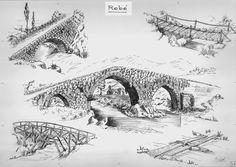 álbumes de fotos Landscape Elements, Landscape Plans, Landscape Architecture, Landscape Design, Garden Design, Château Fort, Stained Glass Patterns, Abandoned Houses, Fly Fishing