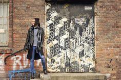 Długa kamizelka damska Top Secret na blogu #shinysyl Long Vests, Black Vest, Ripped Jeans, Street Fashion, Leather Jacket, Street Style, Blouse, Jackets, Outfits