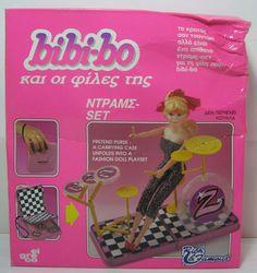 VTG 80'S EL GRECO BIBI-BO BIBI BO BIBIBO DRUMS SET ACCESSORIES MIB RARE NEW    eBay