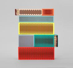 HAY : Matchboxes, Clara von Zweigbergk and Shane Schneck joined forces for Danish design house HAY t Stylish Home Decor, Turquoise, Packaging Design Inspiration, Brand Packaging, Danish Design, Shabby Chic Decor, Cool Designs, Wall Decor, House Design