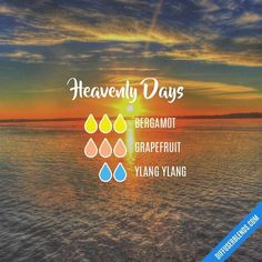 Heavenly Days - Essential Oil Diffuser Blend #essentialoil