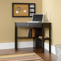This corner computer desk good looking office desk at a great value that does the job in any setting. Perfect for new businesses, young people, kid's rooms, basements or anywhere that requires an affo