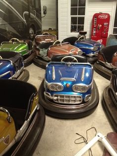 Super RARE Bumper Car Gebr Ihle Original Condition