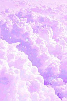 Lilac Lavander Clouds