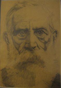Paternal great grandfather Smith self portrait
