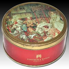 "FORTNUM & MASON SCOTTISH SHORTBREAD TIN ""STATE ENTRY OF MARY QUEEN OF SCOTS"""
