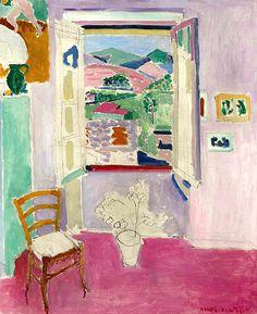 Henri Matisse (1869-1954) La fenêtre ouverte 1911