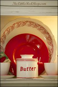 The Little Red Shop: Vintage Farmhouse Kitchen ~ Before & After